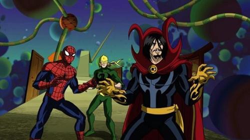 SPIDER-MAN, IRON FIST, DOCTOR STRANGE