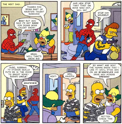 spidey-simpsons101