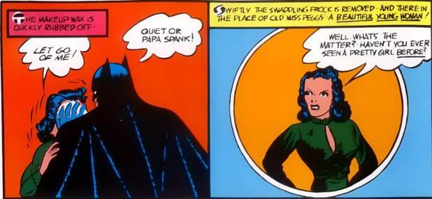 Supergirl lesbian punishment superhero spanking