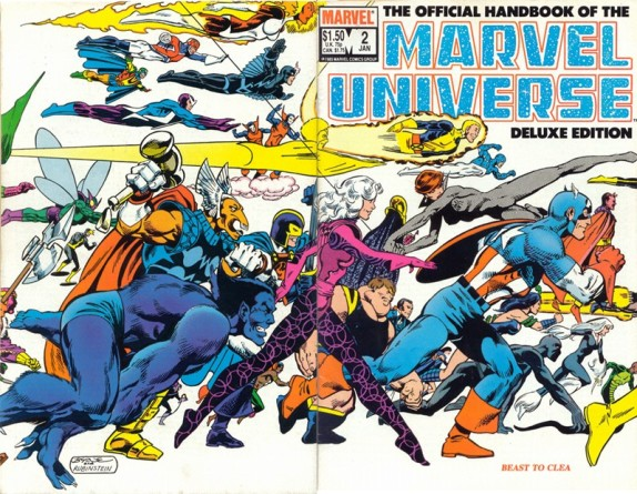 Image result for the handbook of the marvel universe